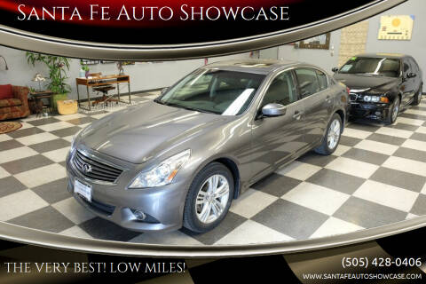2011 Infiniti G37 Sedan for sale at Santa Fe Auto Showcase in Santa Fe NM