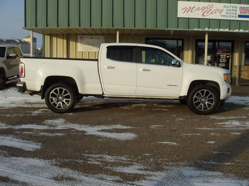 2017 GMC Canyon for sale at Magic City Wholesale in Minot ND