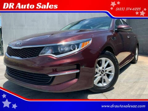 2017 Kia Optima for sale at DR Auto Sales in Glendale AZ
