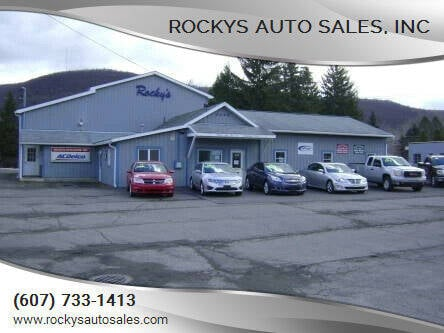 2007 Toyota Camry for sale at Rockys Auto Sales, Inc in Elmira NY
