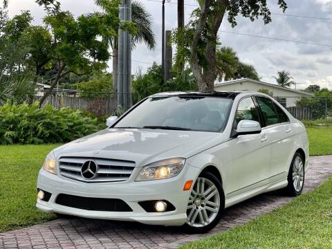 2009 Mercedes-Benz C-Class for sale at Citywide Auto Group LLC in Pompano Beach FL