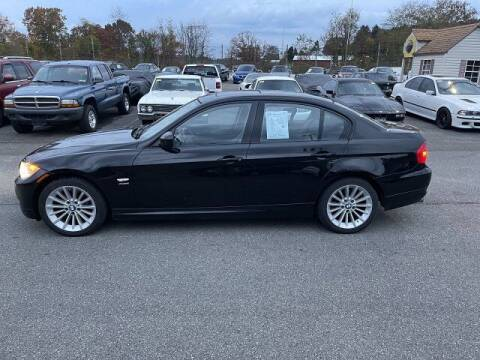 2011 BMW 3 Series for sale at FUELIN FINE AUTO SALES INC in Saylorsburg PA
