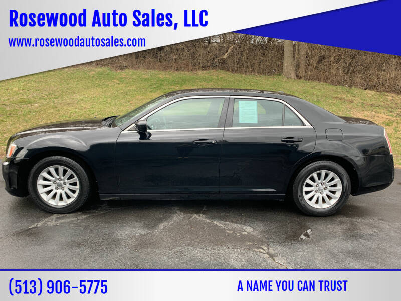 2013 Chrysler 300 for sale at Rosewood Auto Sales, LLC in Hamilton OH