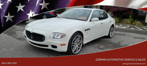 2007 Maserati Quattroporte for sale at German Automotive Service & Sales in Knoxville TN