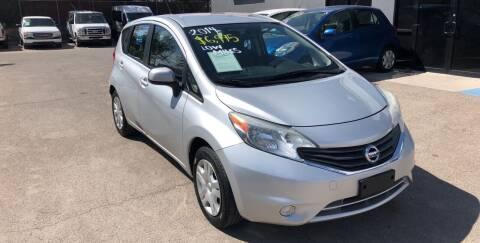 2014 Nissan Versa Note for sale at Legend Auto Sales in El Paso TX