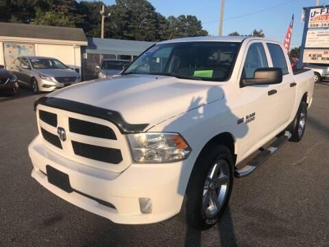 2015 RAM Ram Pickup 1500 for sale at U FIRST AUTO SALES LLC in East Wareham MA