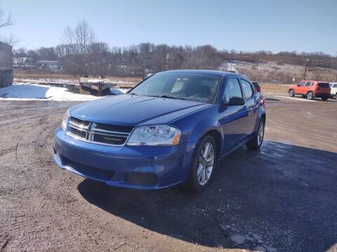 2014 Dodge Avenger for sale at G & H Automotive in Mount Pleasant PA