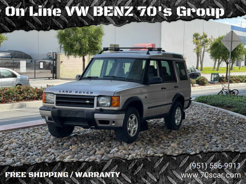2001 Land Rover Discovery Series II for sale at On Line VW BENZ 70's Group in Warehouse CA
