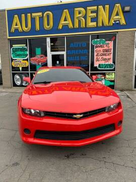 2015 Chevrolet Camaro for sale at Auto Arena in Fairfield OH