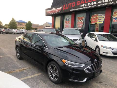 2019 Ford Fusion for sale at Washington Auto Group in Waukegan IL
