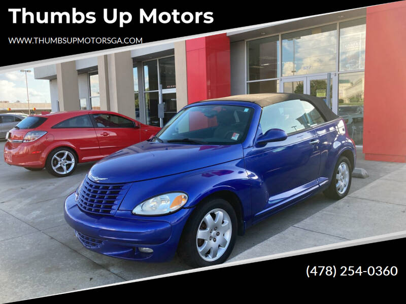 2005 Chrysler PT Cruiser for sale at Thumbs Up Motors in Warner Robins GA