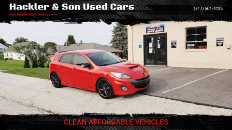 2013 Mazda MAZDASPEED3 for sale at Hackler & Son Used Cars in Red Lion PA