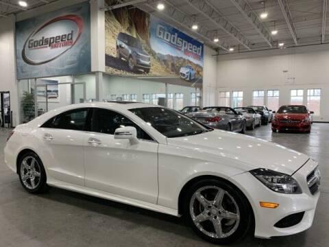2015 Mercedes-Benz CLS for sale at Godspeed Motors in Charlotte NC