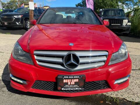2013 Mercedes-Benz C-Class for sale at Best Cars R Us in Plainfield NJ