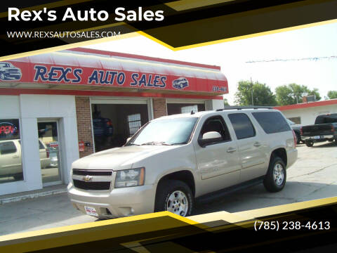 2008 Chevrolet Suburban for sale at Rex's Auto Sales in Junction City KS