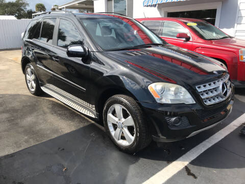 2009 Mercedes-Benz M-Class for sale at Riviera Auto Sales South in Daytona Beach FL