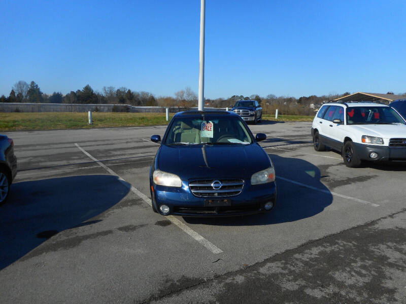 2002 Nissan Maxima for sale at Willow Creek Auto Sales in Knoxville TN