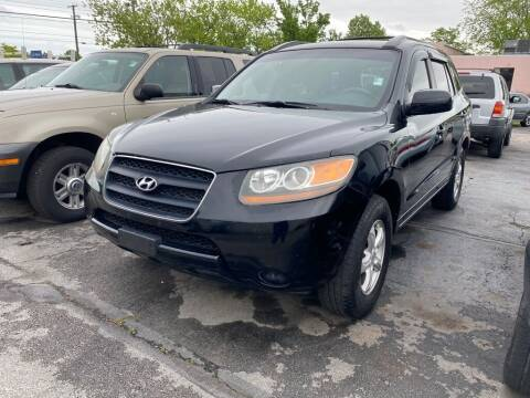 2007 Hyundai Santa Fe for sale at Lakeshore Auto Wholesalers in Amherst OH