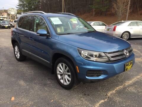 2017 Volkswagen Tiguan for sale at Bladecki Auto in Belmont NH