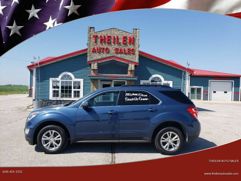 2017 Chevrolet Equinox for sale at THEILEN AUTO SALES in Clear Lake IA