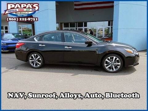 2016 Nissan Altima for sale at Papas Chrysler Dodge Jeep Ram in New Britain CT