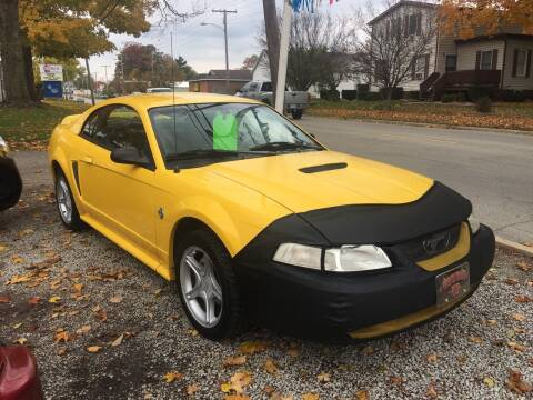 1999 Ford Mustang for sale at Antique Motors in Plymouth IN