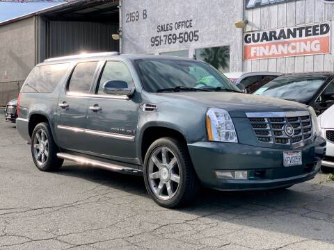 2008 Cadillac Escalade ESV for sale at Auto Source in Banning CA