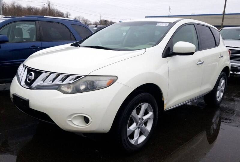 2010 Nissan Murano for sale at Angelo's Auto Sales in Lowellville OH