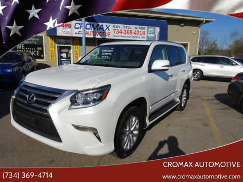 2016 Lexus GX 460 for sale at Cromax Automotive in Ann Arbor MI