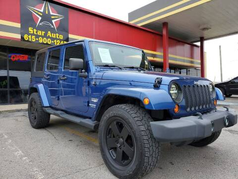 2010 Jeep Wrangler Unlimited for sale at Star Auto Inc. in Murfreesboro TN