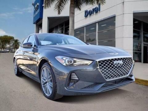 2021 Genesis G70 for sale at DORAL HYUNDAI in Doral FL