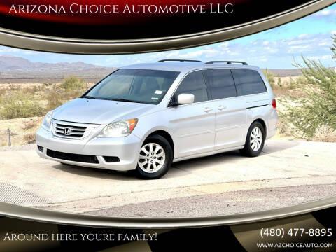 2010 Honda Odyssey for sale at Arizona Choice Automotive LLC in Mesa AZ