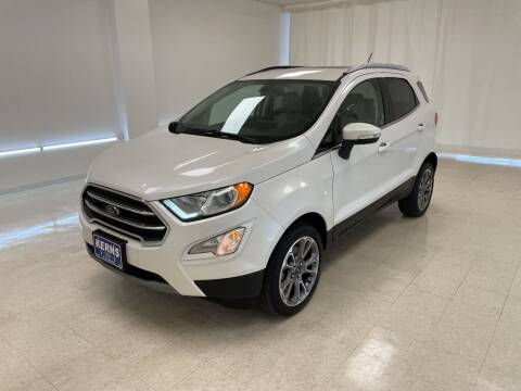 2019 Ford EcoSport for sale at Kerns Ford Lincoln in Celina OH