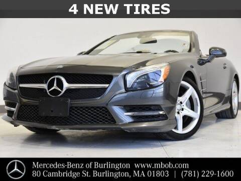 2014 Mercedes-Benz SL-Class for sale at Mercedes Benz of Burlington in Burlington MA
