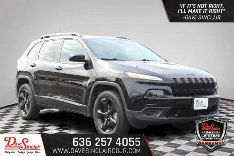 2017 Jeep Cherokee for sale at Dave Sinclair Chrysler Dodge Jeep Ram in Pacific MO