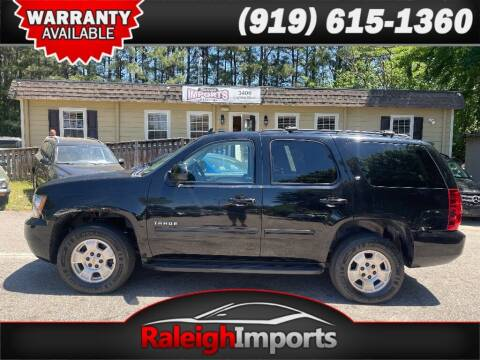 2013 Chevrolet Tahoe for sale at Raleigh Imports in Raleigh NC