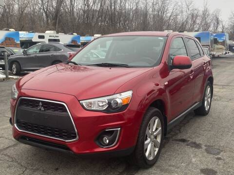 2015 Mitsubishi Outlander Sport for sale at MetroWest Auto Sales in Worcester MA