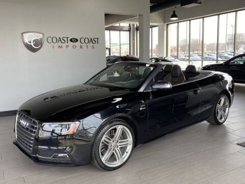 2013 Audi S5 for sale at Coast to Coast Imports in Fishers IN