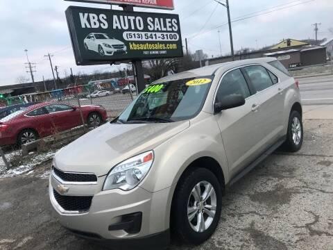 2012 Chevrolet Equinox for sale at KBS Auto Sales in Cincinnati OH
