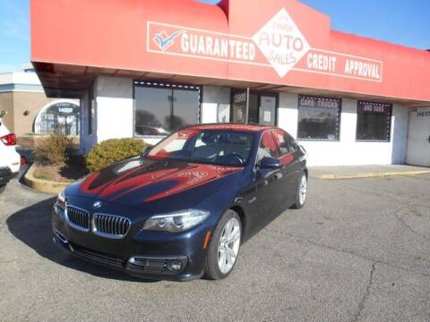 2015 BMW 5 Series for sale at Oak Park Auto Sales in Oak Park MI