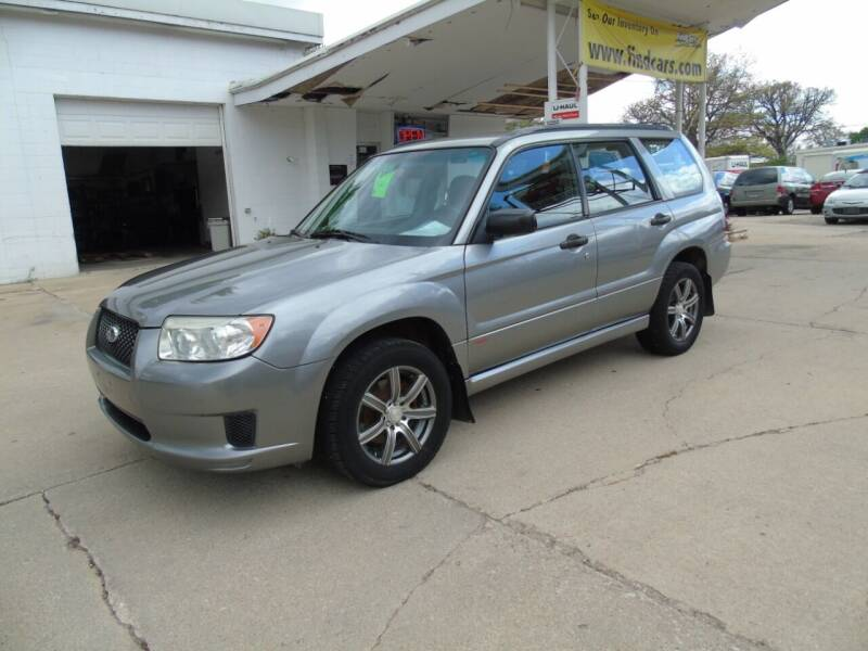 2007 Subaru Forester for sale at C&C AUTO SALES INC in Charles City IA