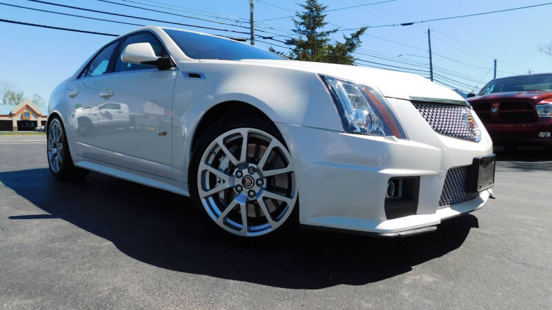 2014 Cadillac CTS-V for sale at Action Automotive Service LLC in Hudson NY