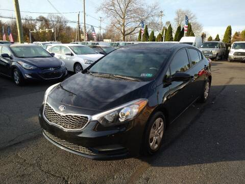 2015 Kia Forte for sale at P J McCafferty Inc in Langhorne PA