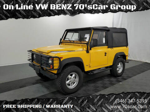 1995 Land Rover Defender for sale at On Line VW BENZ 70's Group in Warehouse CA