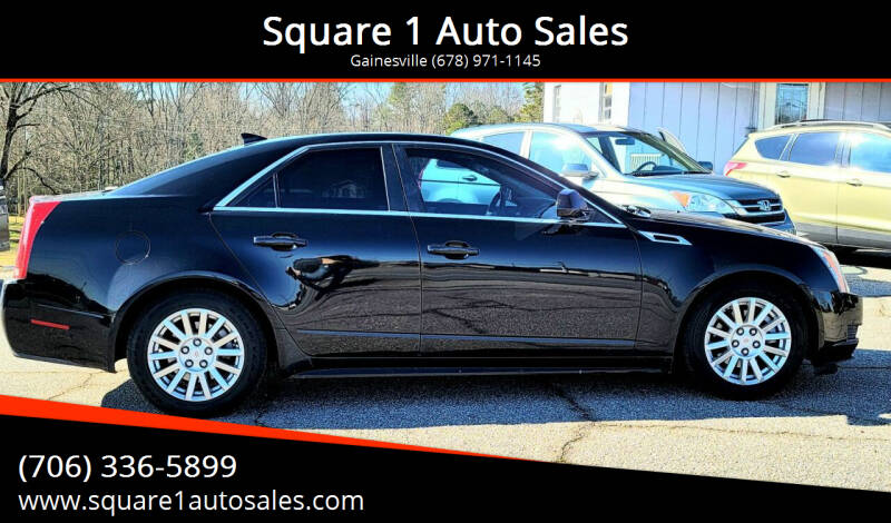 2011 Cadillac CTS for sale at Square 1 Auto Sales - Commerce in Commerce GA