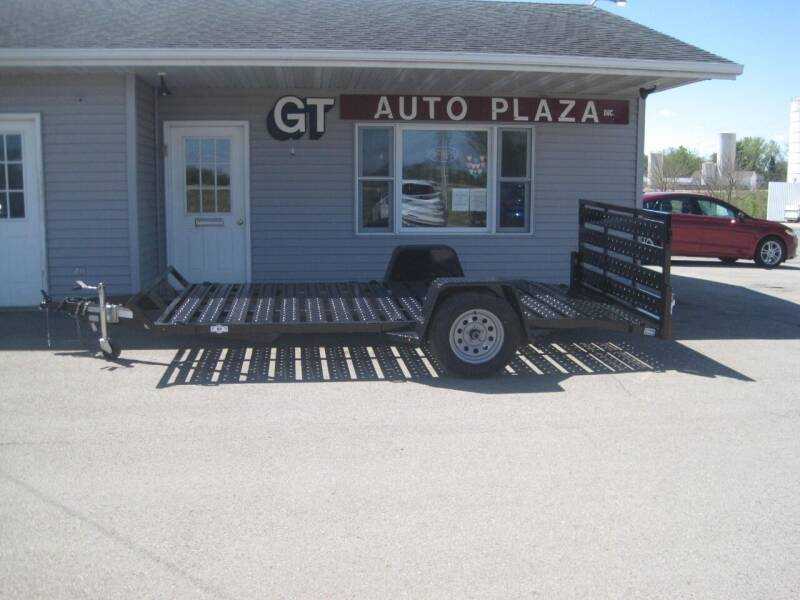 2020 NATION 82 IN X 13 FT UTILITY TRAILER for sale at G T AUTO PLAZA Inc in Pearl City IL