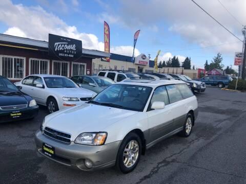 2002 Subaru Outback for sale at Tacoma Autos LLC in Tacoma WA