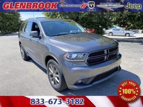 2017 Dodge Durango for sale at Glenbrook Dodge Chrysler Jeep Ram and Fiat in Fort Wayne IN