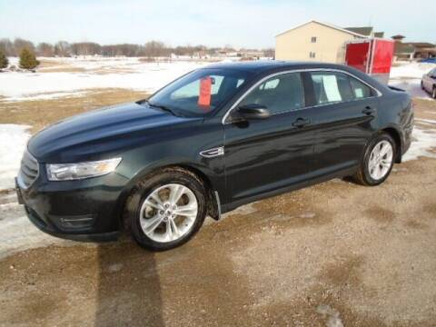 2014 Ford Taurus for sale at SWENSON MOTORS in Gaylord MN