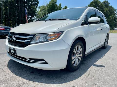 2014 Honda Odyssey for sale at Airbase Auto Sales in Cabot AR